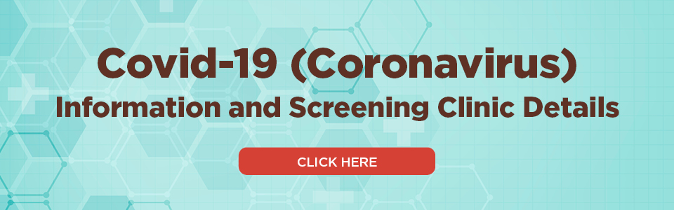 COVID19-Information and screening clinic details