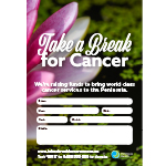 Take a Break for Cancer poster