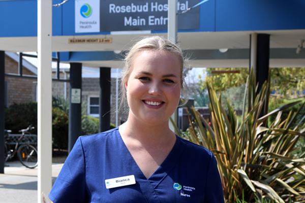 Belinda at Rosebud Hospital