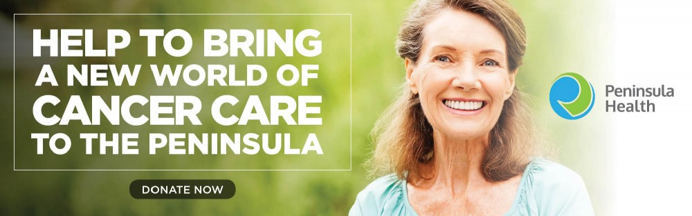 Help bring a new world of cancer care to the Peninsula