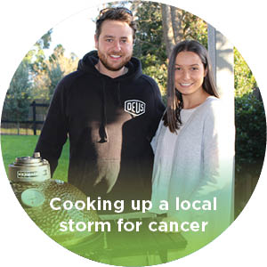 Cooking up a local storm for cancer services