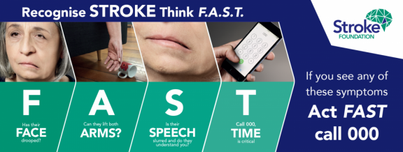 Signs of Stroke - FAST