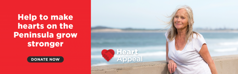 Help make hearts on the Peninsula grow stronger