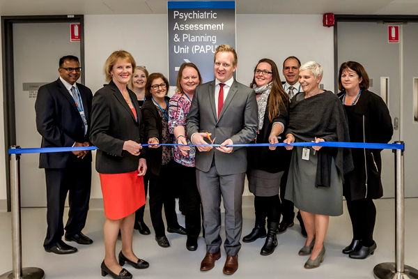 New Purpose Built Psychiatric Assessment And Planning Unit Opened Peninsula Health
