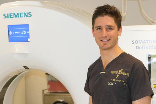 The Ironman leading Rosebud Radiology - Peninsula Health