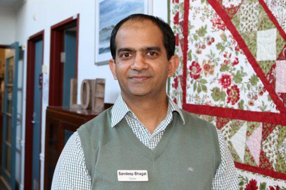Head of Palliative Care Sandeep Bhagat