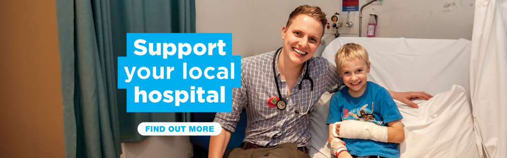 Support your local hospital