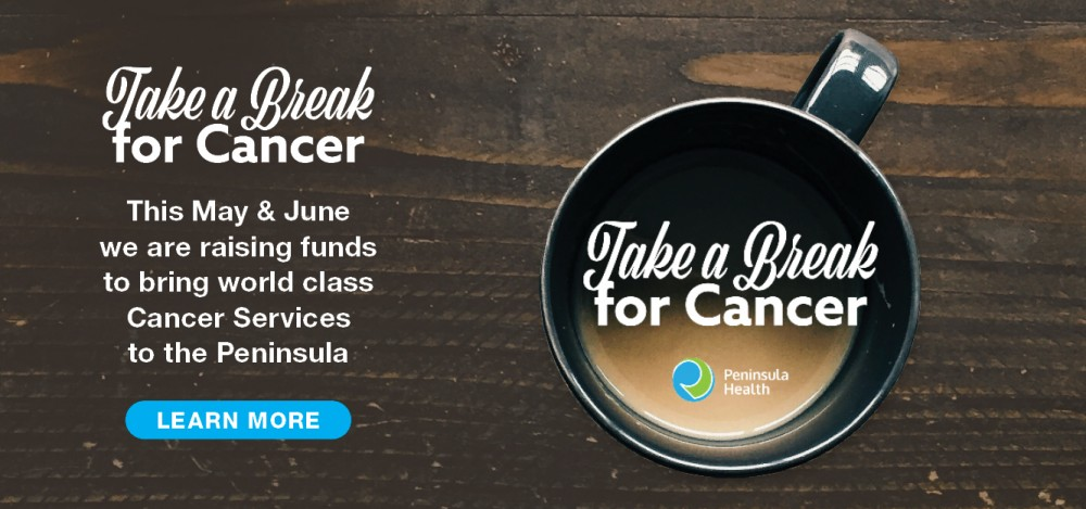 Take a Break for Cancer - raising funds for Cancer Services