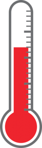 thermometer of funds raised