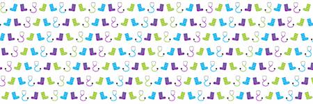 Twitter header image - Crazy socks for Docs
