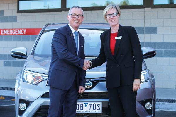 Local Car Dealership Supports Their Local Health Service Peninsula Health