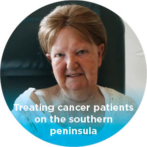 Southern Peninsula cancer patients are able to be treated locally