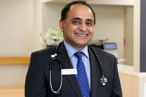 Executive Director of Medical Services and Clinical Governance, Associate Professor Vikas Wadhwa