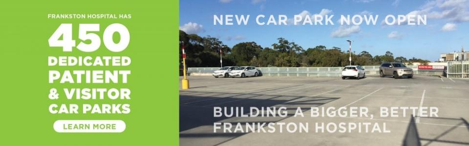 Frankston Car Park now open