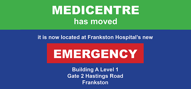 Medicentre has moved