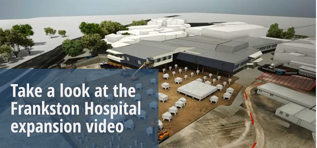 Frankston Hospital upgrade